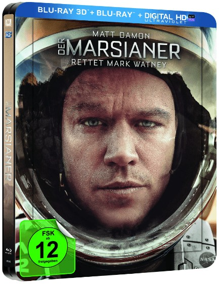 The Martian steelbook DE