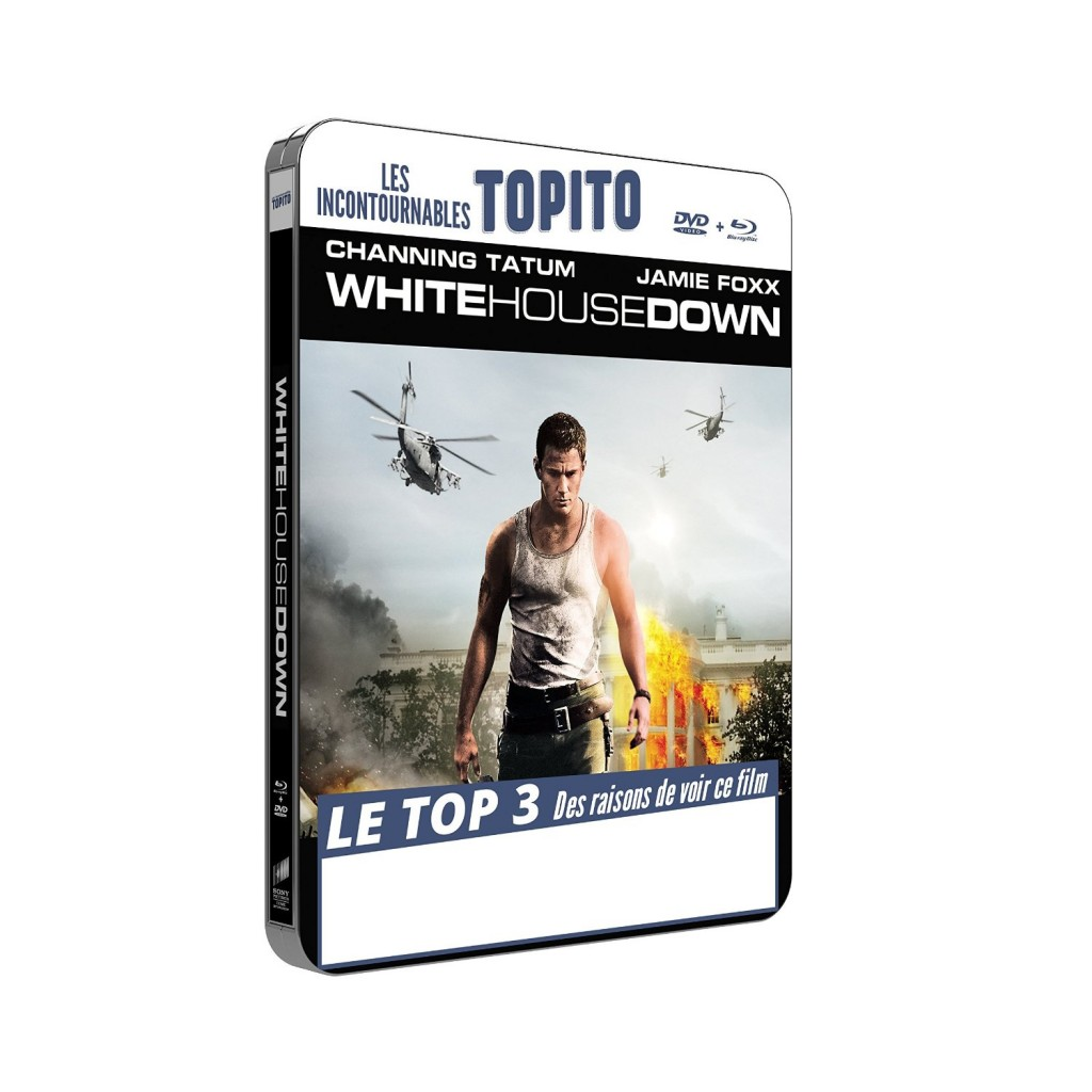 White House Down steelbook fr