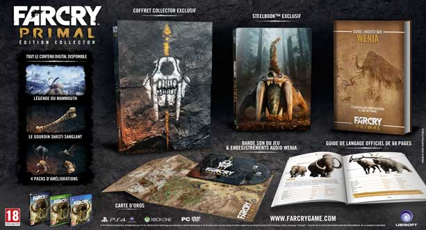far cry primal steelbook