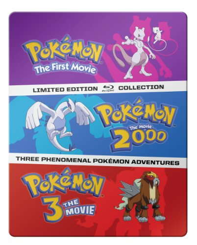 pokemon movie 1-3 steelbook