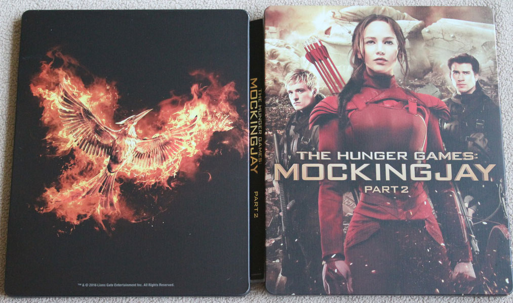 Hunger Games La Revolte Partie 2 steelbook best buy1