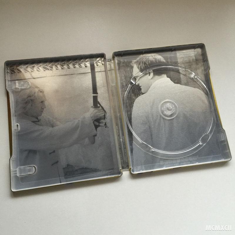 Kill Bill Volume 1 Steelbook Zavvi