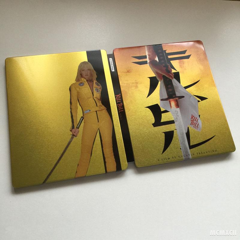 Kill Bill Volume 1 Steelbook Zavvi2