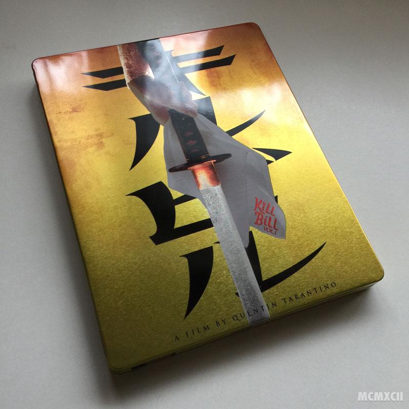 Kill Bill Volume 1 Steelbook Zavvi4