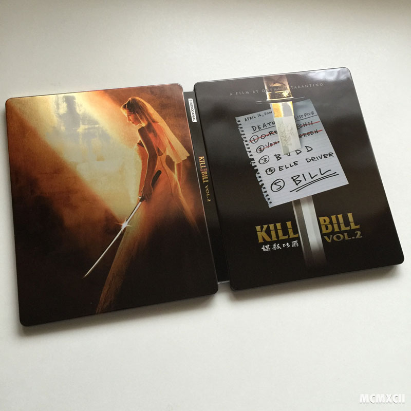 Kill Bill Volume 2 Steelbook Zavvi3