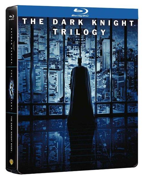 The Dark Knight Trilogy steelbook