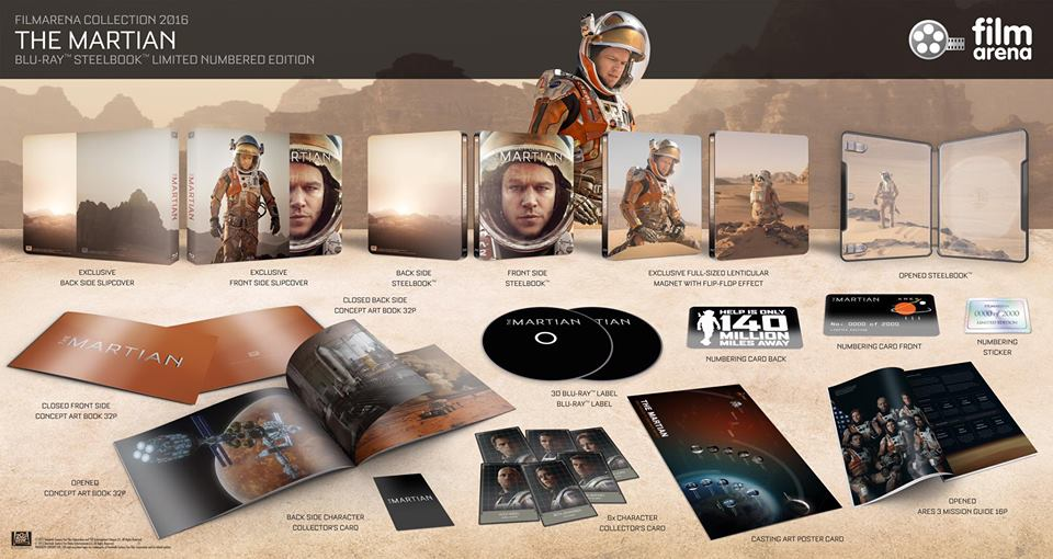 The Martian steelbook filmarena
