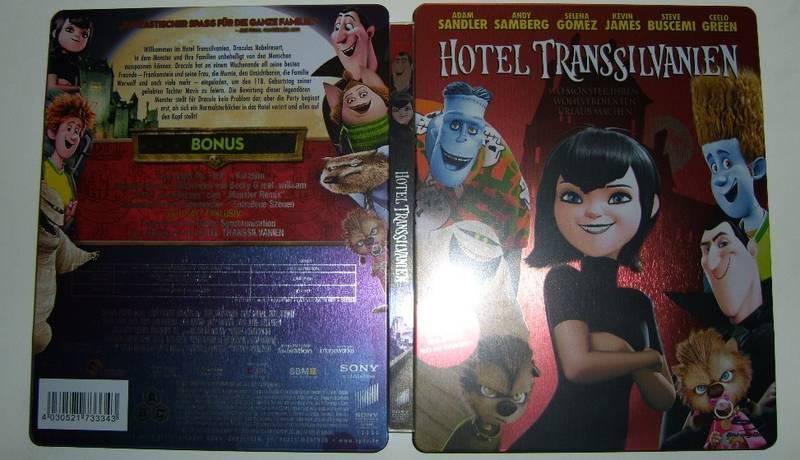 Hotel Transylvania steelbook