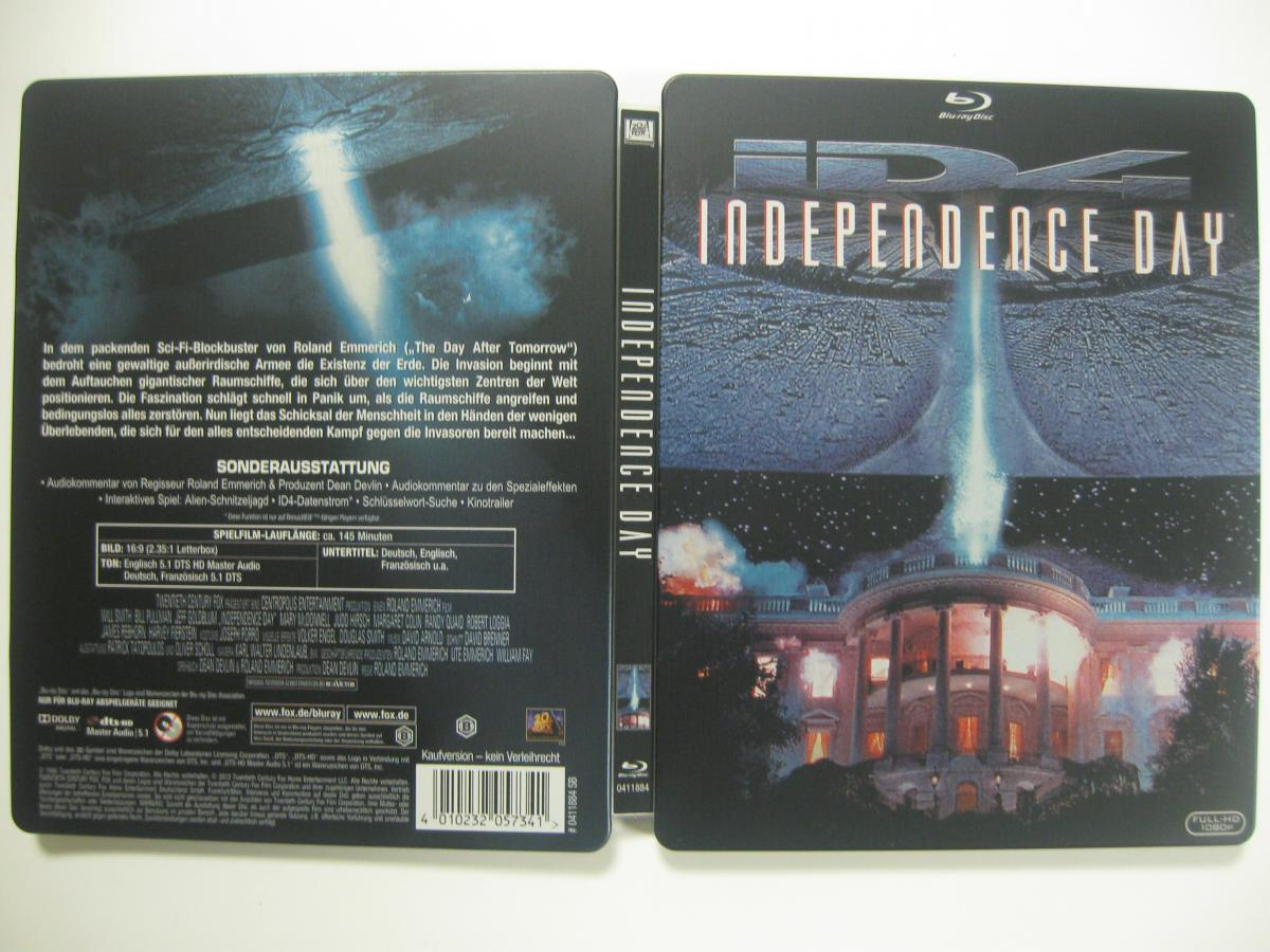 Independence Day steelbook DE
