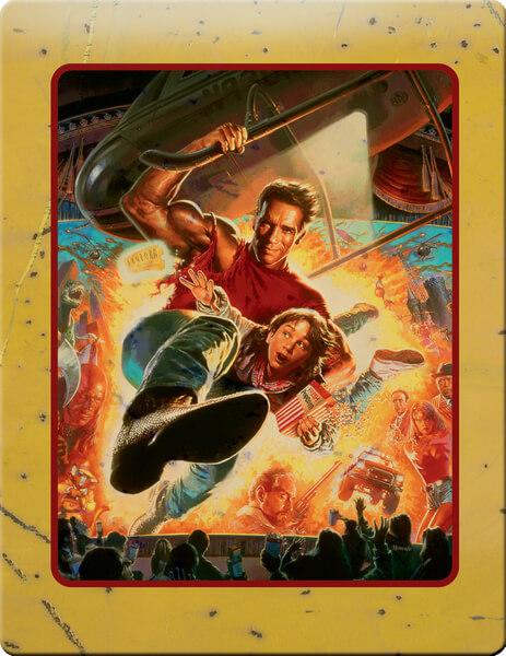 Last Action Hero steelbook zavvi 2