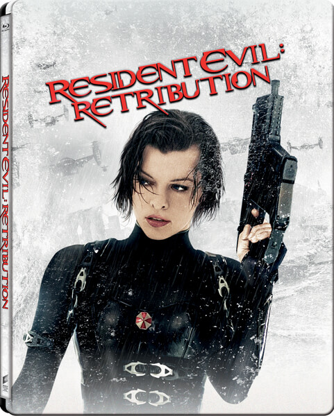 Resident Evil Retribution steelbook 1