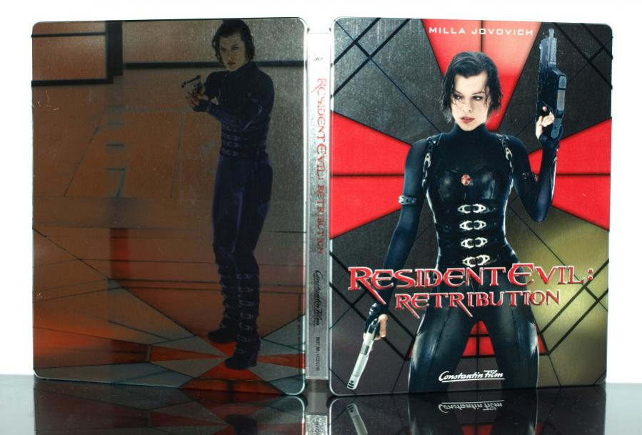 Resident Evil Retribution steelbook 8