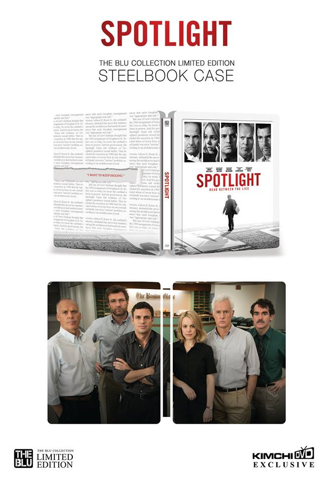 Spotlight steelbook