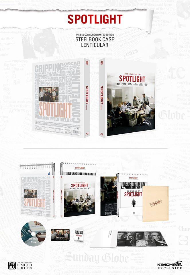 Spotlight steelbook 3