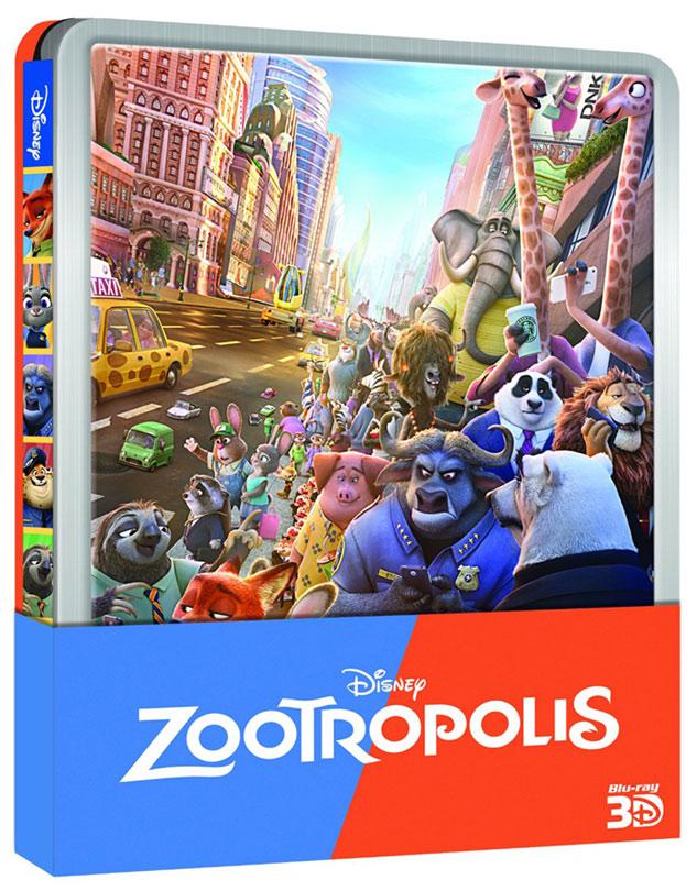 Zootopia steelbook zavvi