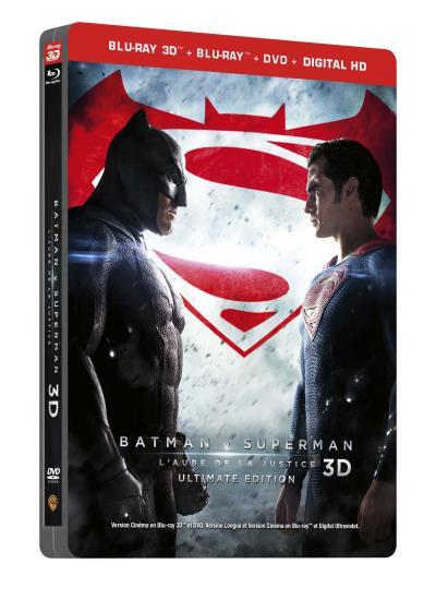 Batman V Superman steelbook FR