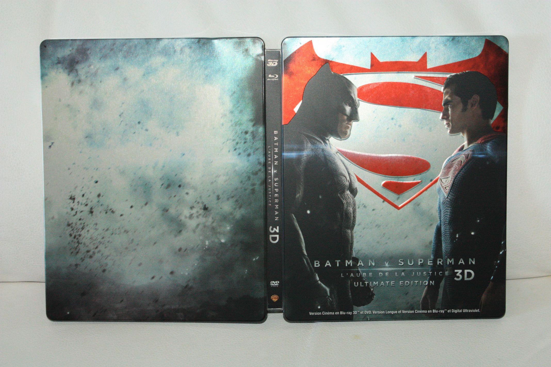 Batman V Superman steelbook FR 1