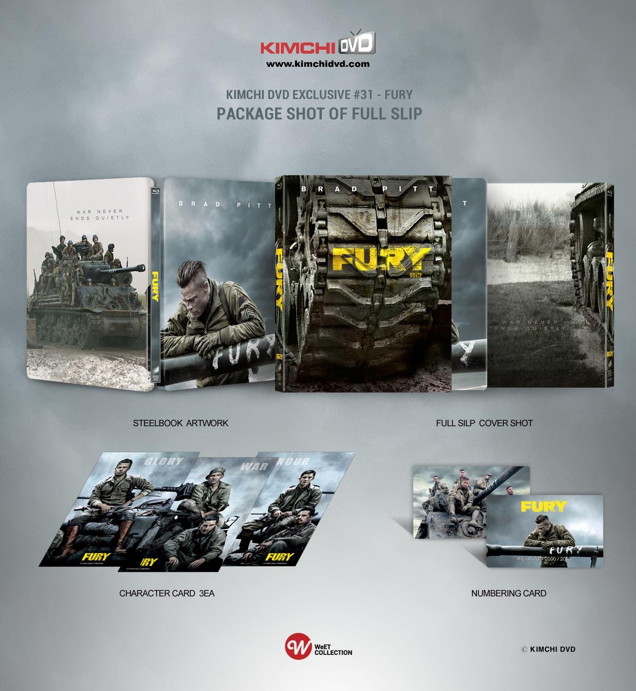 Fury steelbook kimchidvd