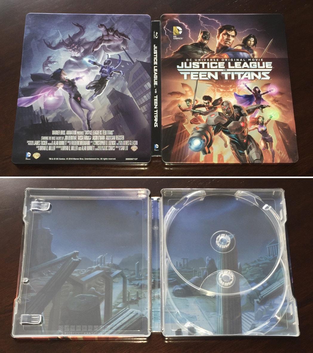 Justice-League-vs-Teen-Titans steelbook US