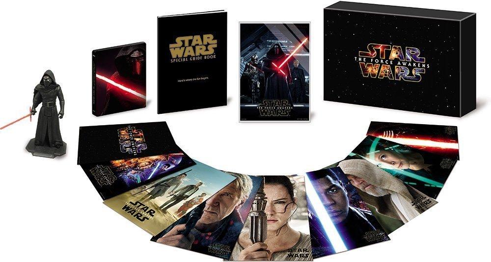 Star Wars 7 steelbook jap