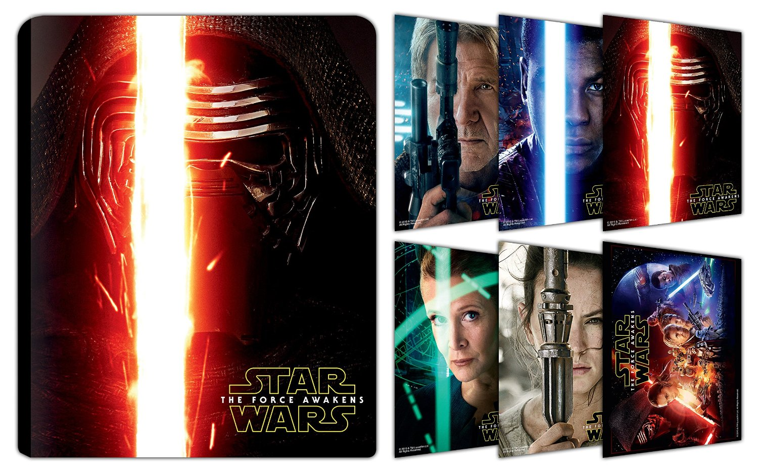 Star Wars Force Awakens steelbook india 2