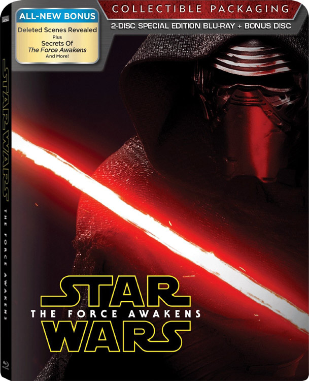 Star Wars Force Awakens steelbook india