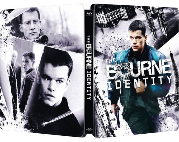 The Bourne Identity steelbook zavvi1
