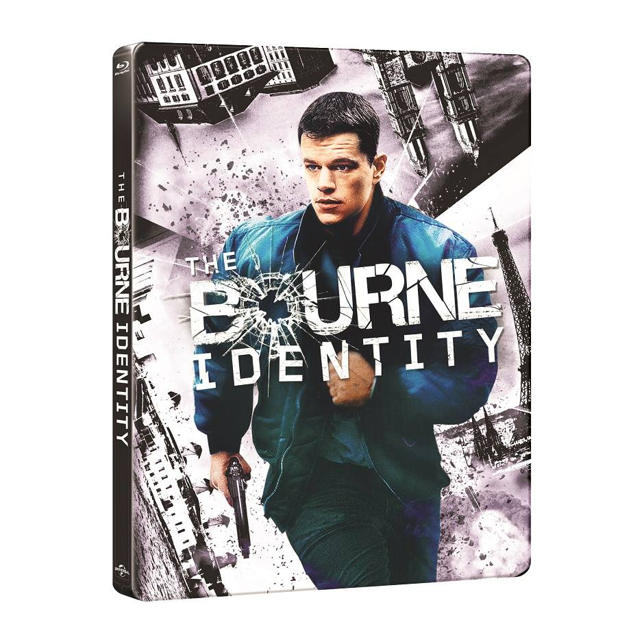 The Bourne Identity steelbook