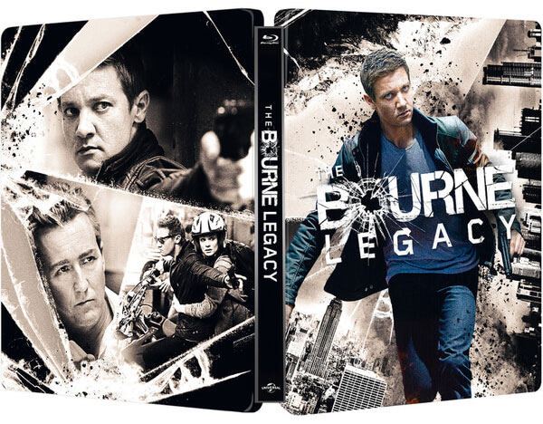 The Bourne Legacy steelbook zavvi1