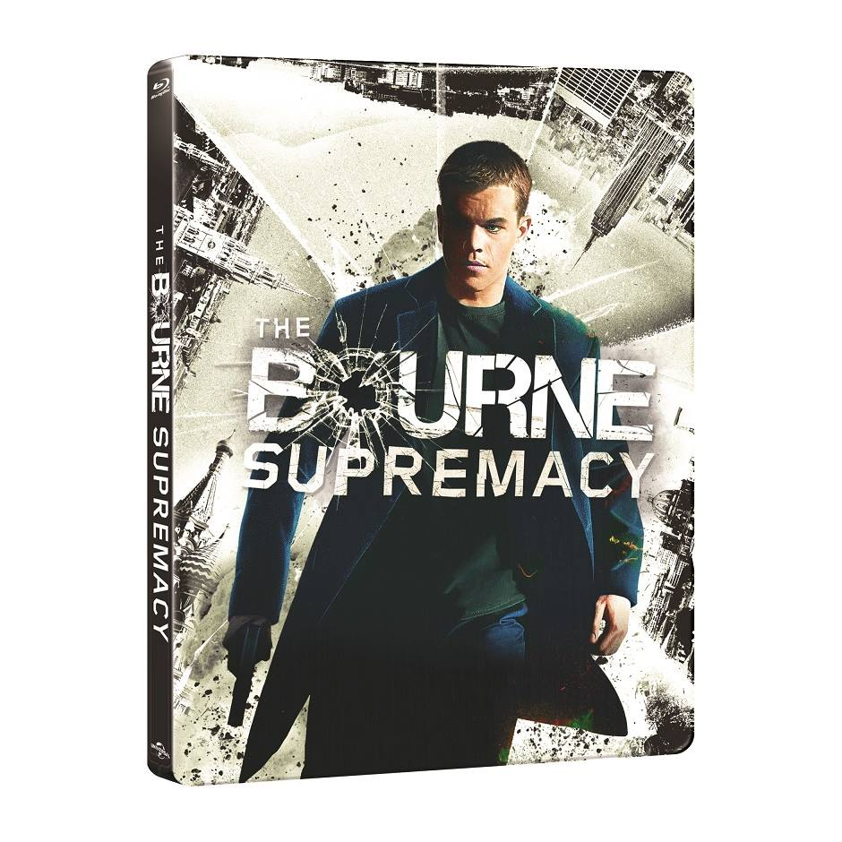The Bourne Supremacy steelbook