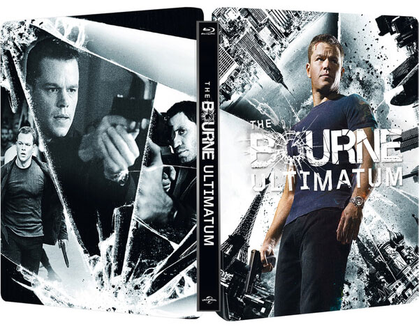 The Bourne Ultimatum steelbook zavvi1