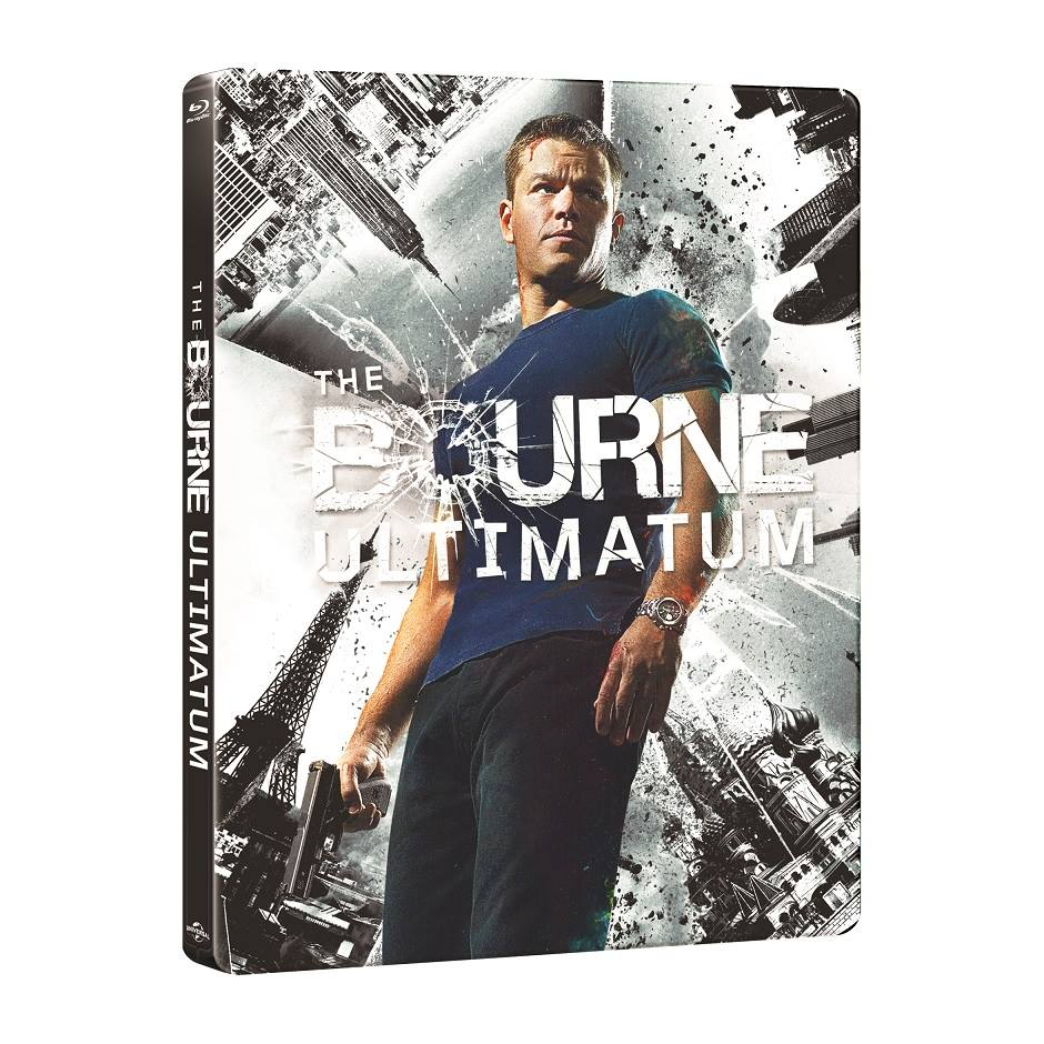 The Bourne Ultimatum steelbook