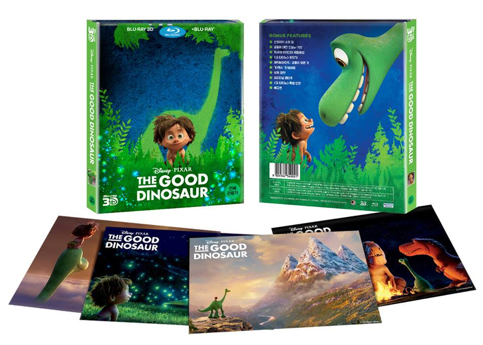 The Good Dinosaur steelbook korea