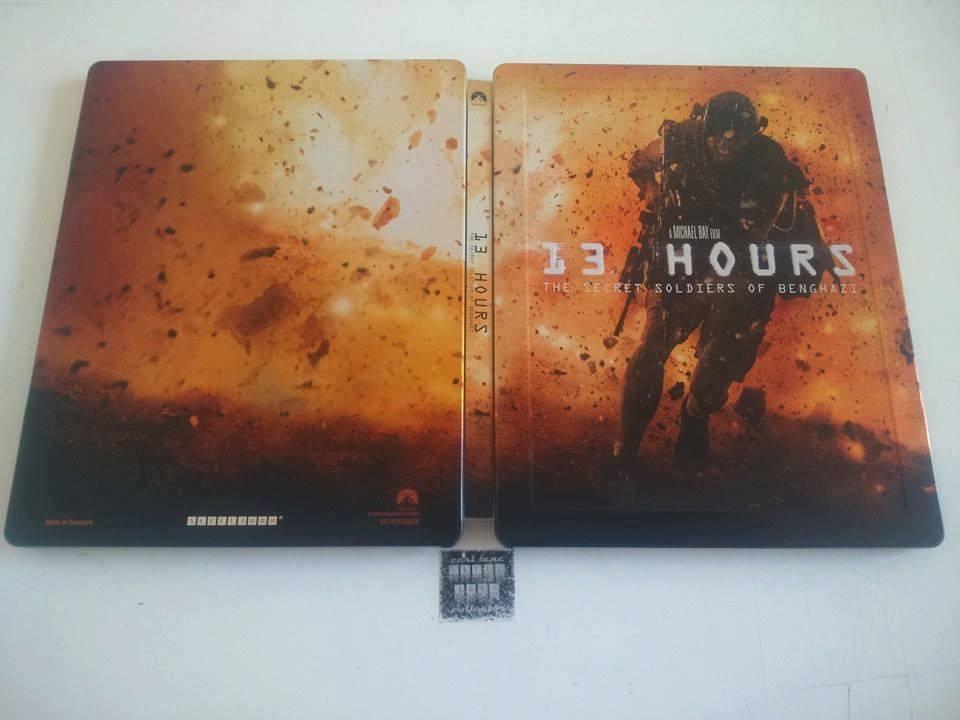 13 Hours steelbook 1