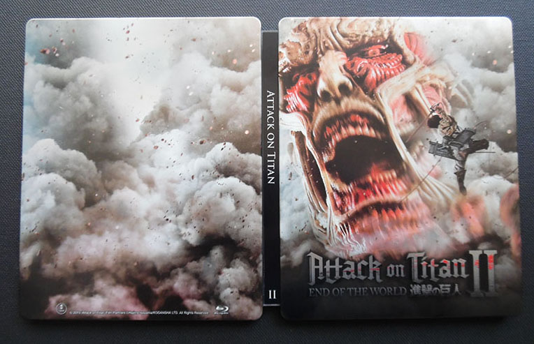 Attack on Titan II steelbook 1