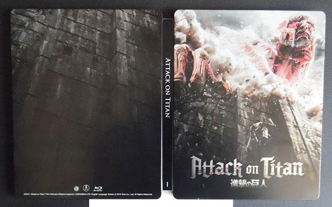 Attack on Titan steelbook 1