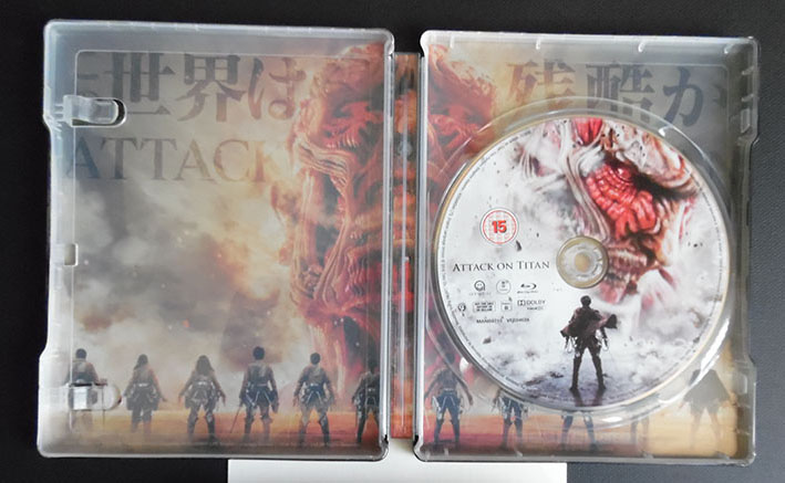 Attack on Titan steelbook 2