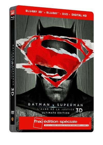 Batman V Superman steelbook fnac