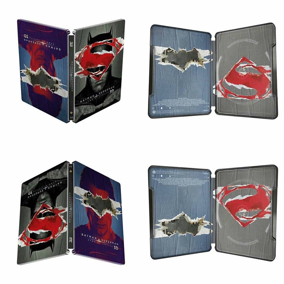 Batman V Superman steelbook fnac
