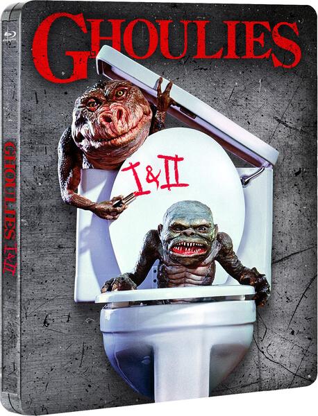 Ghoulies I & II steelbook zavvi1