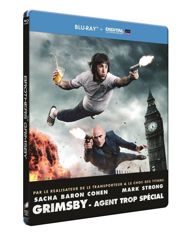 Grimsby - Agent Trop Spcécial steelbook DE