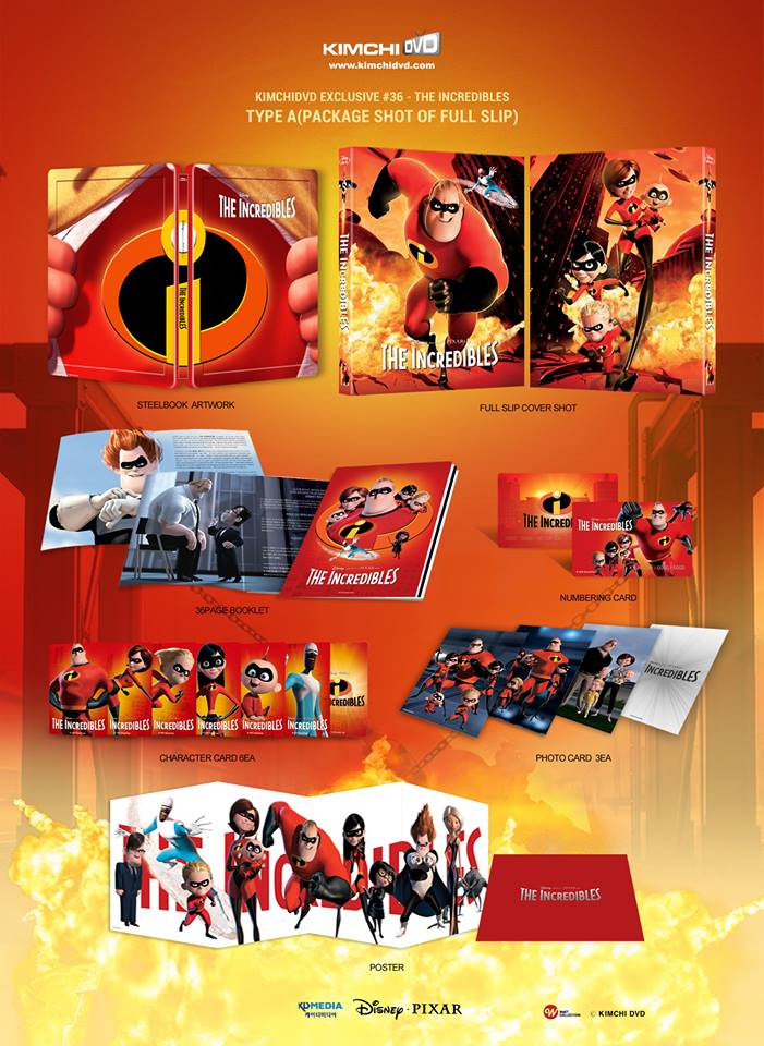 Incredibles steelbook kimchi A