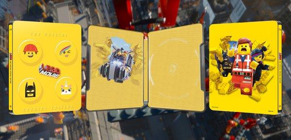 Lego Movie steelbook hmv