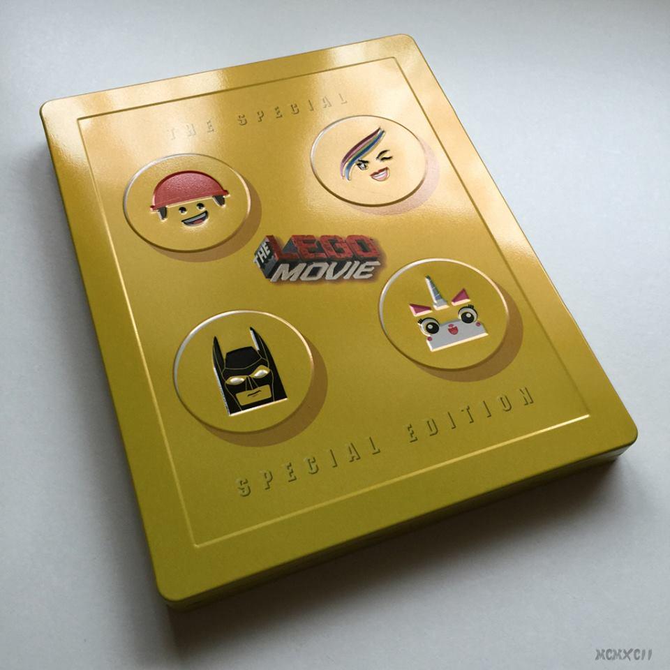Lego movie steelbook 1