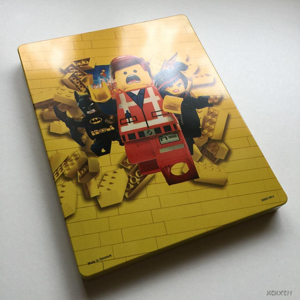 Lego movie steelbook 2
