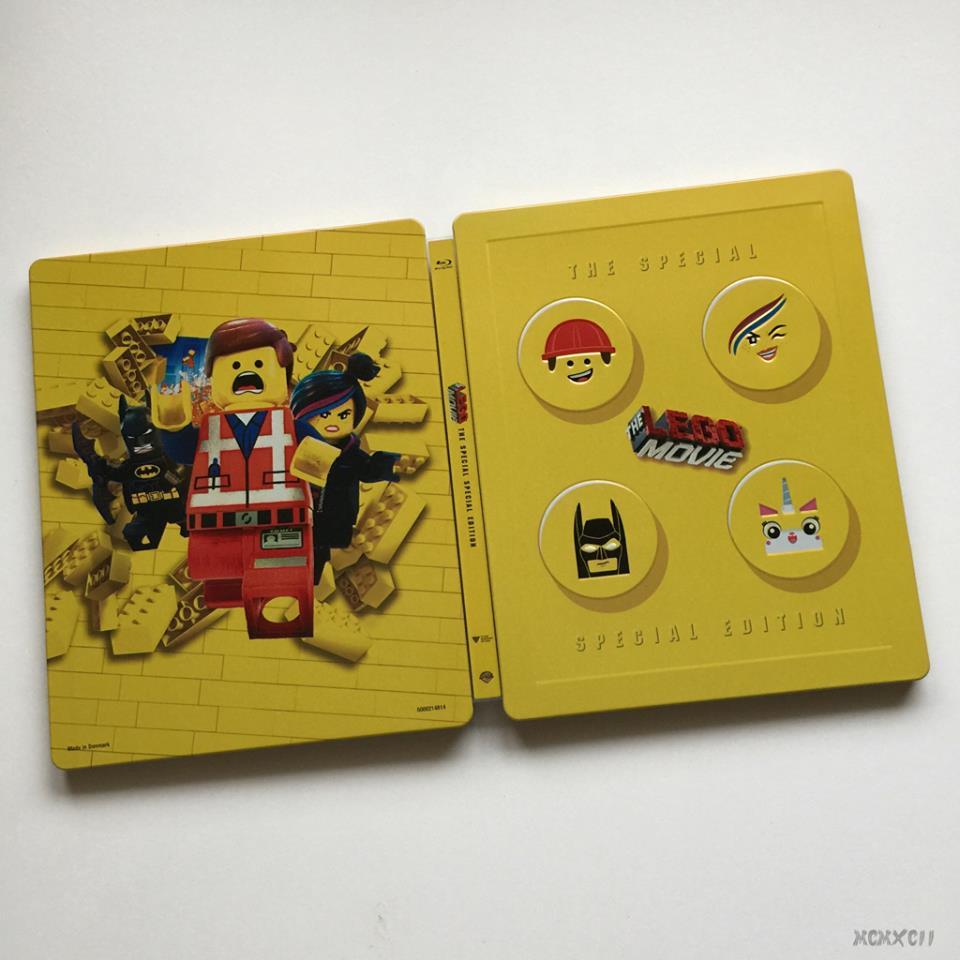 Lego movie steelbook 3