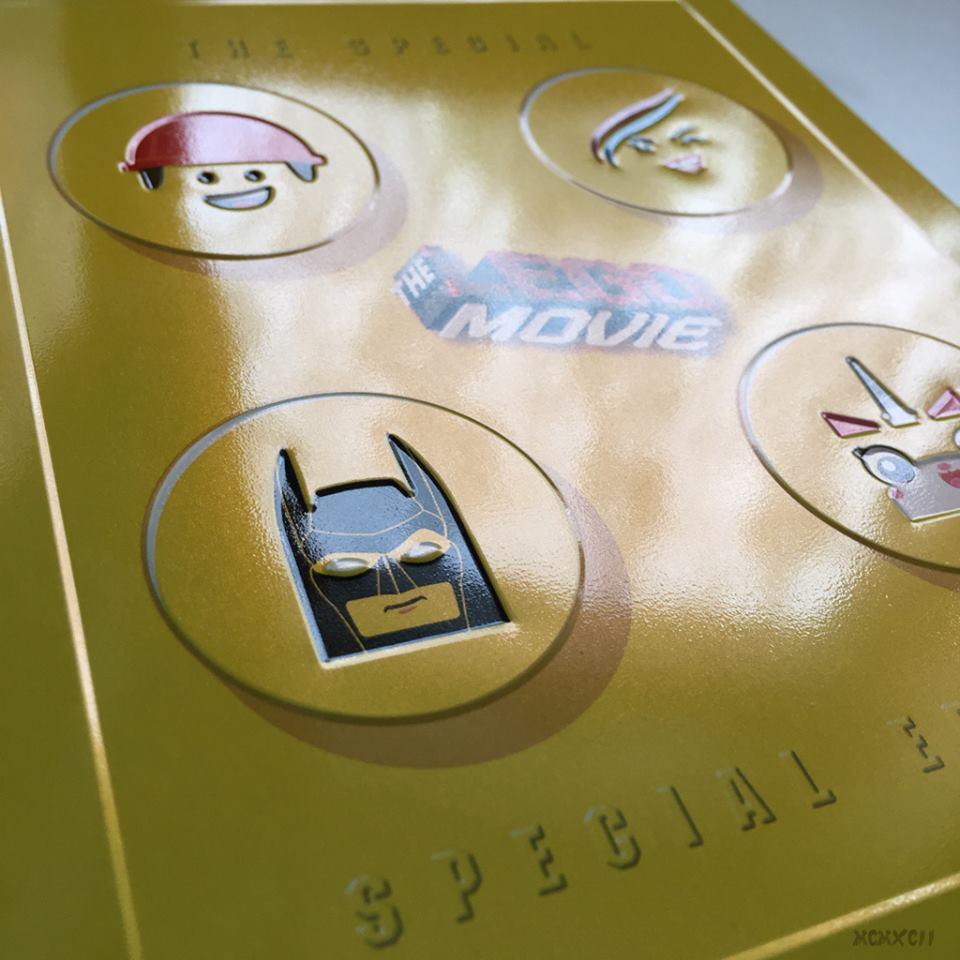Lego movie steelbook 4