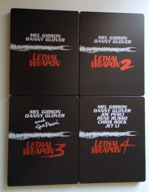 Lethal Weapon steelbook 1