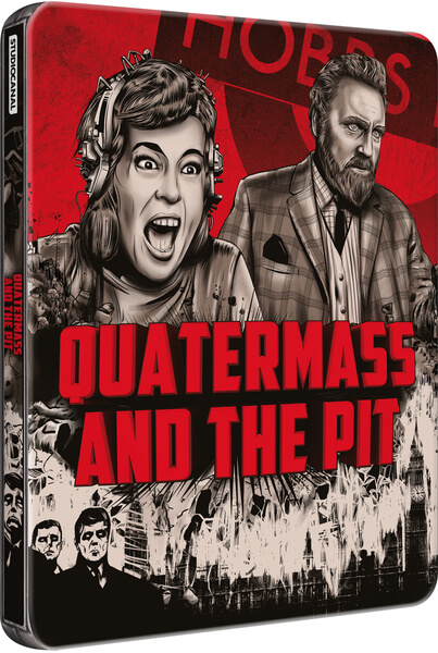 Quatermass and The Pit steelbook 1