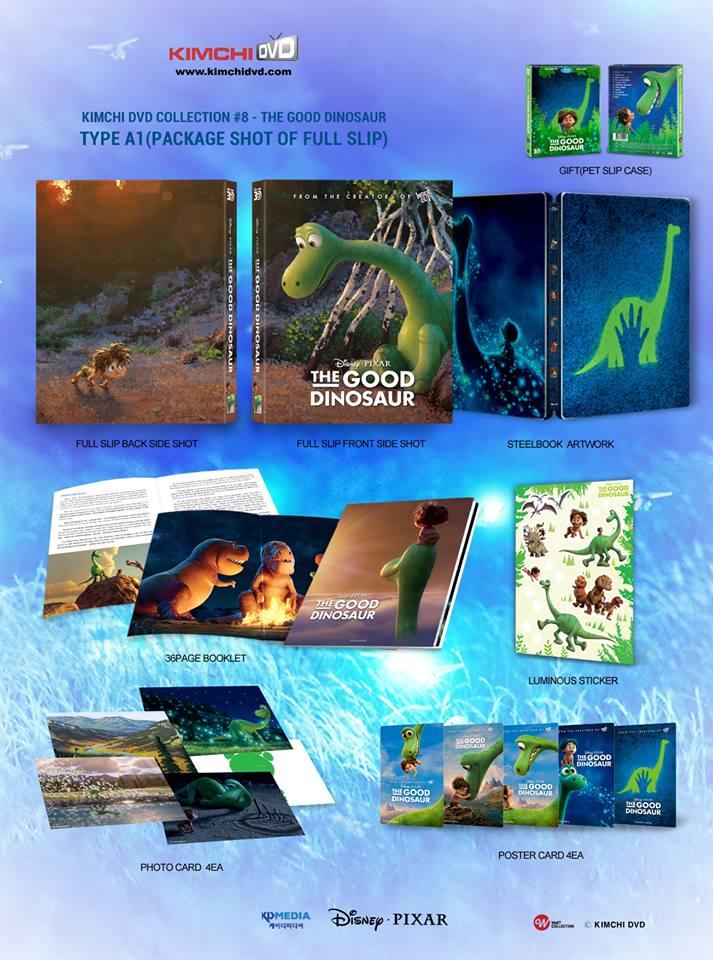 The Good Dinosaur steelbook kimchidvd 2